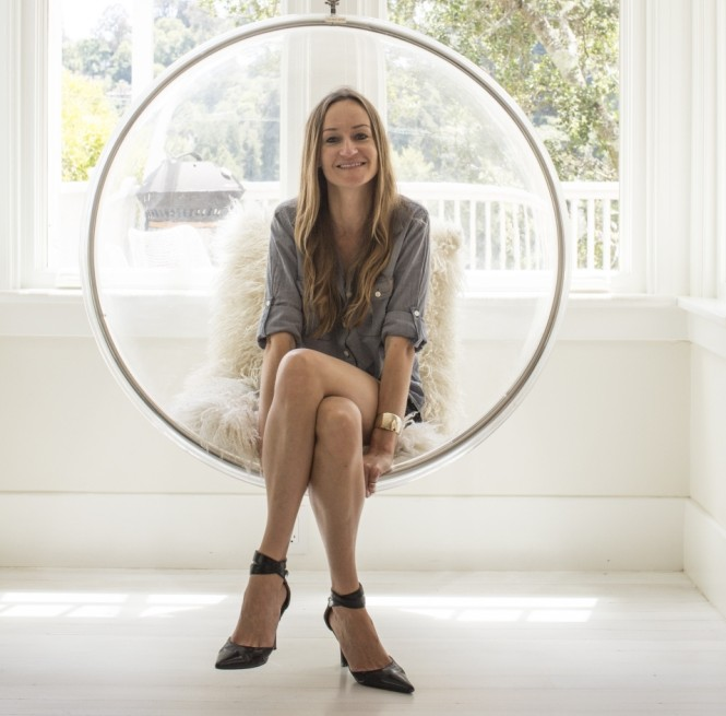 Bea Johnson, photographed at her home in Mill Valley, California, is the author of Zero Waste Home (Picture: Gabriela Hasbun)