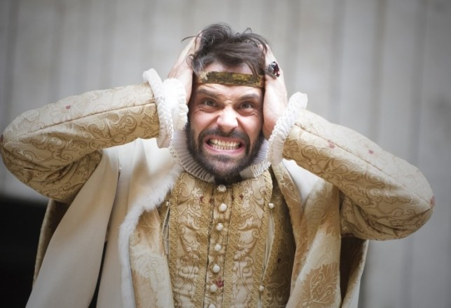 Joseph Millson is a physical force in Macbeth at Shakespeare's Globe (Picture: Tristram Kenton)