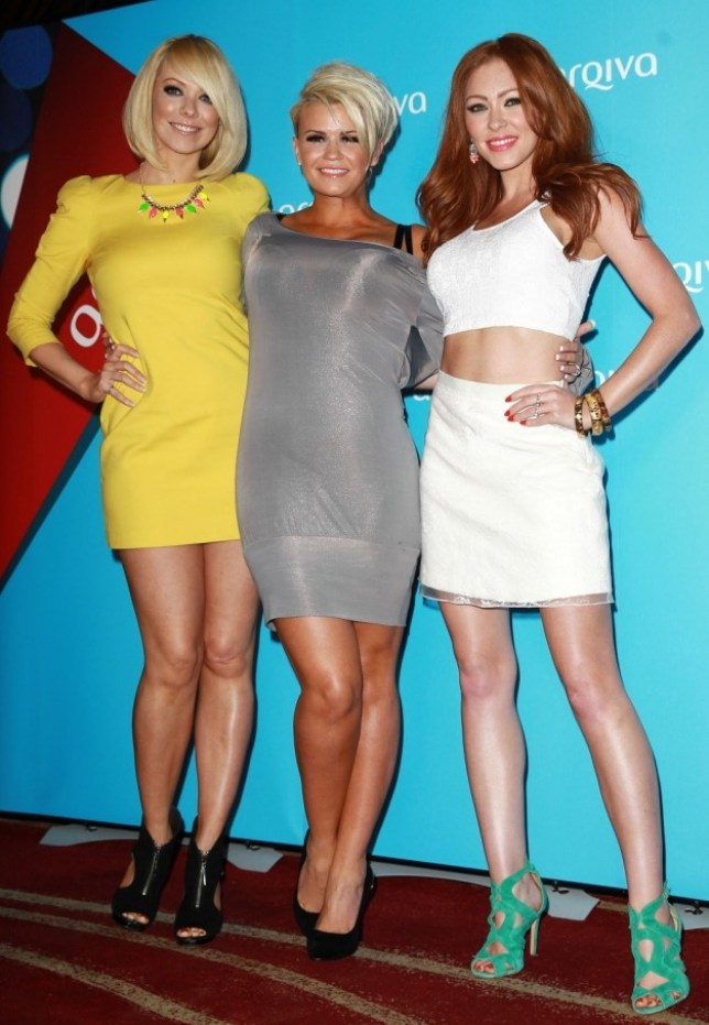 LONDON, UNITED KINGDOM - JULY 03: Liz McClarnon, Kerry Katona and Natasha Hamilton attend the Arqiva Commercial Radion Awards at Park Plaza Westminster Bridge Hotel on July 3, 2013 in London, England. (Photo by Fred Duval/Getty Images)