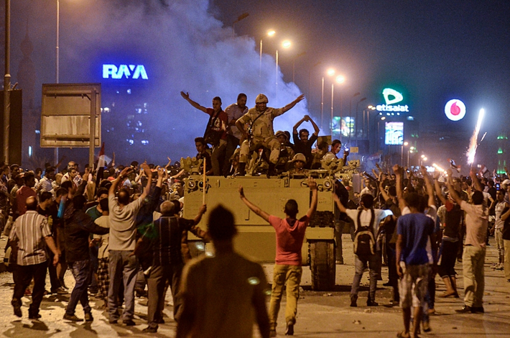 Egypt crisis: Dozens dead as violence erupts after Mohammed Morsi ousting