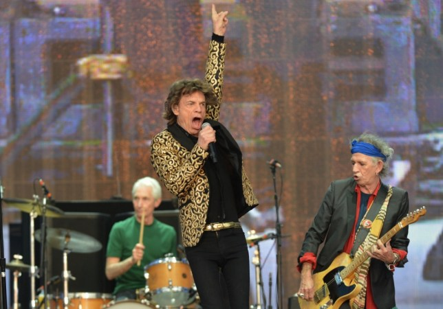 Mick Jagger and Keith Richards from The Rolling Stones perform on stage during Barclaycard British Summer Time in Hyde Park, London. PRESS ASSOCIATION Photo. Picture date: Saturday July 6, 2013. Photo credit should read: Anthony Devlin/PA Wire
