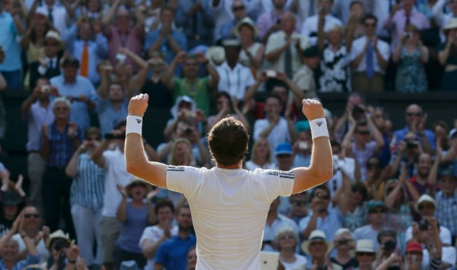 Andy Murray ends 77-year wait for British champion in men's singles and tells fans: I hope you enjoyed it... I tried my best