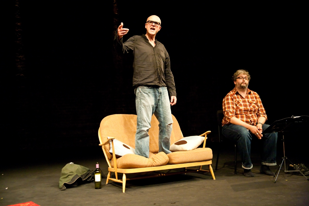 What Happens To The Hope At The End Of The Evening starring Tim Crouch and Andy Smith (Picture: Katherine Leedale)
