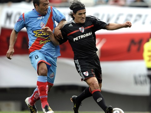 Cry me a River! Tears for Ariel Ortega after he provides assist for son in his River Plate testimonial