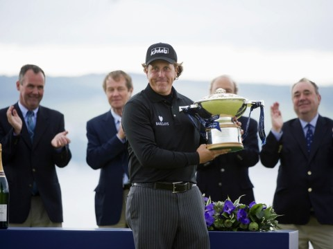 Scottish Open: Castle defender Phil Mickelson is the perfect champion