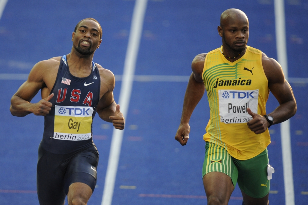 Failed tests for Asafa Powell and Tyson Gay rock sprinting