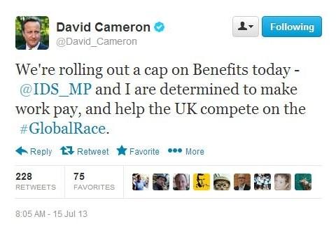 David Cameron Twitter fail: Prime minister mistakenly backs spoof Iain Duncan Smith account