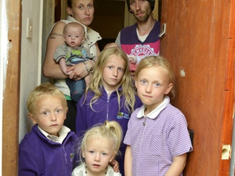 Couple 'trapped' in one-bed flat with six children
