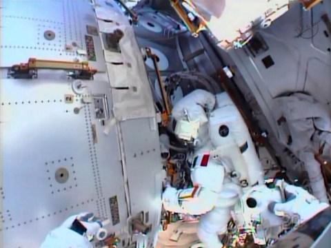 Water leak in helmet halts Nasa spacewalk