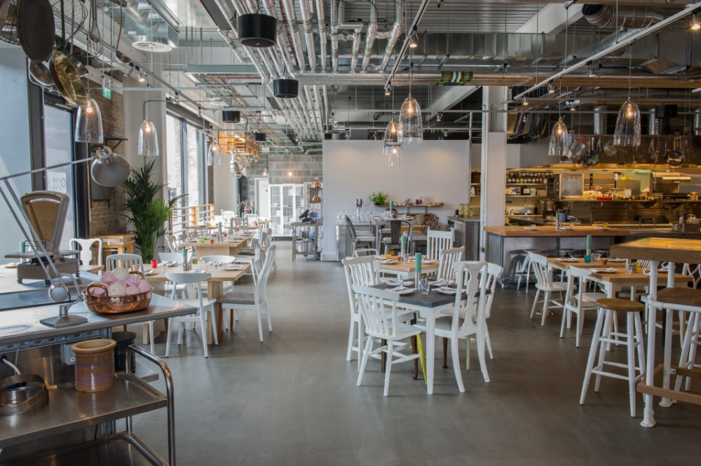 Grain Store has great food but in an unloveable setting