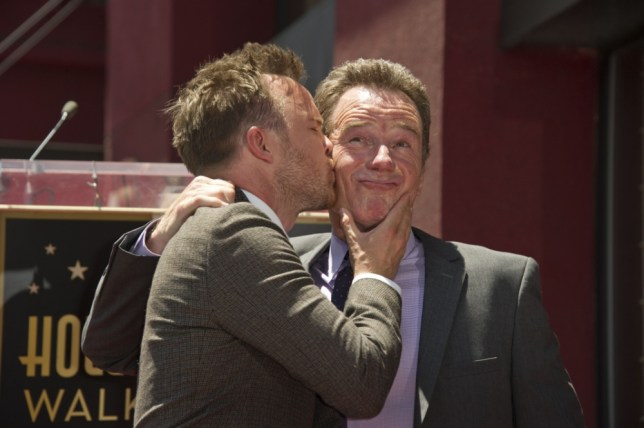 Bryan Cranston And Aaron Paul Get Breaking Bad Tattoos To