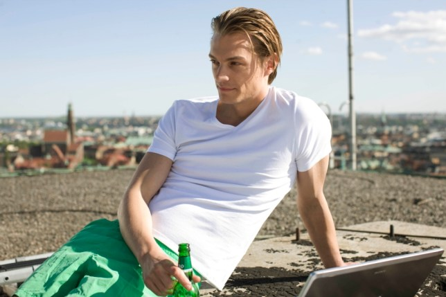 Joel Kinnaman stands out in this sexy, fast-paced Swedish drama (Picture: Frank Ashberg)