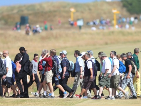 Gallery: The Open Golf 20th July 2013