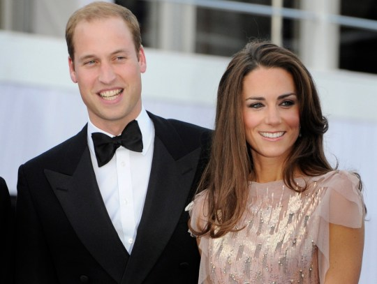 epa03796804 (FILE) A file picture dated 09 June 2011 shows Britain's Prince William (L) and his wife Catherine, Duchess of Cambridge arriving for the 10th Absolute Return for Kids (ARK) charity gala at Kensington Palace in London, Britain. According to media reports on 22 July 2013, the Duchess of Cambridge is in labour in a London hospital. She has been admitted to St. Mary's Hospital early 22 July 2013, the palace has announced.  EPA/FACUNDO ARRIZABALAGA