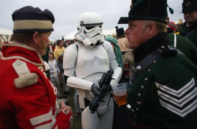 Storm trooper, English Heritage