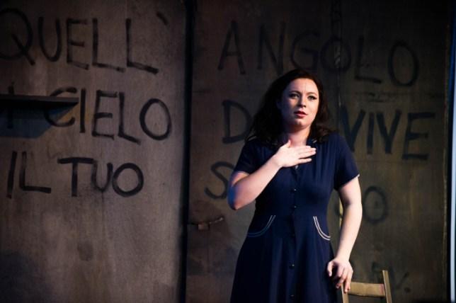 Natalya Romaniw plays Maliella (Picture: Alex Brenner)