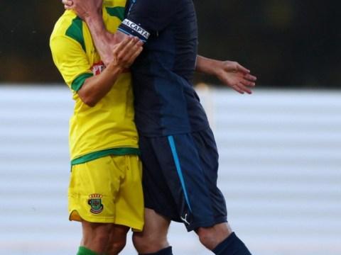Fabricio Coloccini sees red in Newcastle's pre-season friendly in Portugal