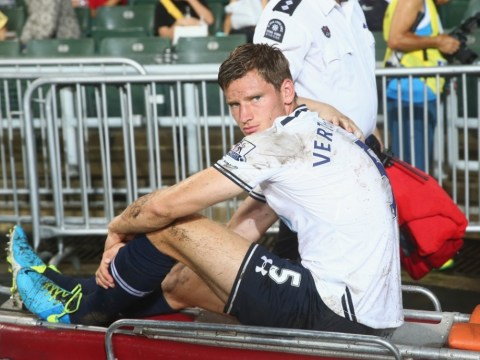 Tests show injury may force Tottenham defender Jan Vertonghen to miss start of the season