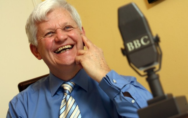 Mandatory Credit: Photo by Paul Grover / Rex Features (722468a)  James Alexander Gordon  James Alexander Gordon at home, Britain - Jan 2008  James Alexander Gordon veteran broadcaster who reads the football results on Sports Report on 5 Live