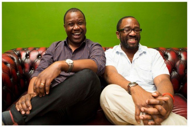 Denton Chikura and Lucian Msamati have turned to folklore for their play (Picture: Gretel Ensignia)