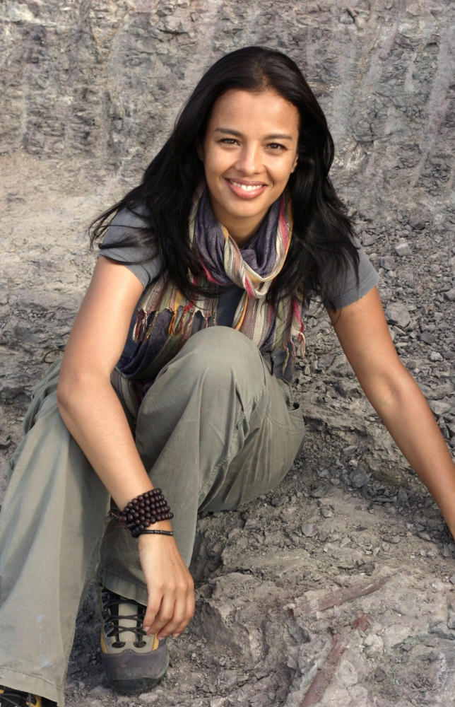 Bang Goes The Theory presenter Liz Bonnin is raising awareness of the endangered tiger (Picture: supplied)