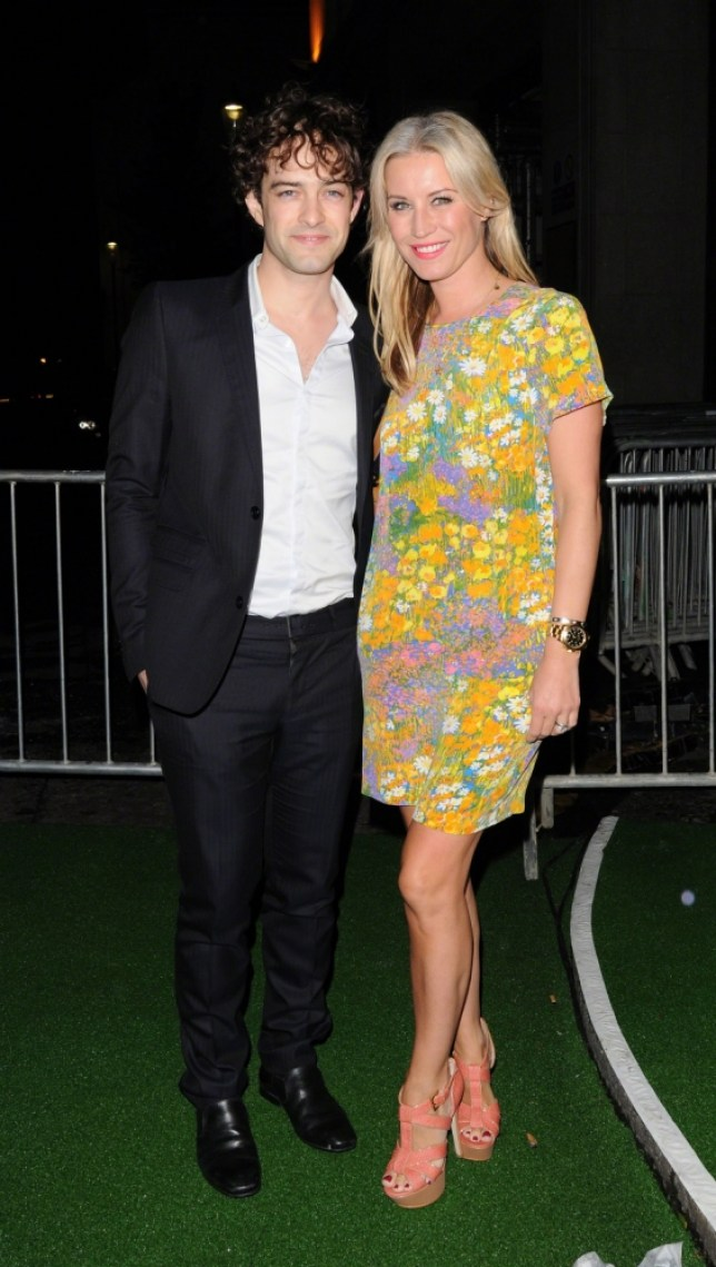 *****File Photo***  Denise van Outen has reportedly ended her four-year marriage to actor Lee Mead **  ALLROUNDERDenise Van Outen and Lee Mead Sir Richard Branson's Pre-Wimbledon Party held at The Roof Gardens - Outside departures. London, England - 21.06.12 Credit Mandatory: WENN.com  Featuring: file van outen and mead split 280713 Where: London, United Kingdom When: 22 Jun 2012 Credit: WENN