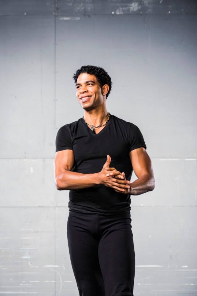 If ever a dancer loved being seduced on stage, it's Carlos Acosta (Picture: Johan Persson)