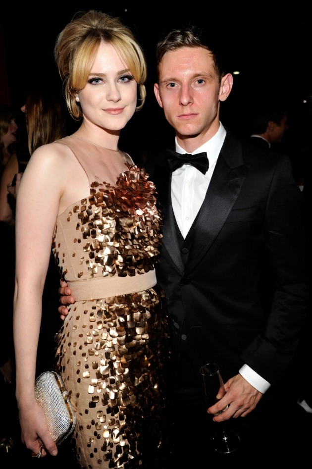 Jamie Bell and Evan Rachel Wood become parents as the actress gives birth to a son