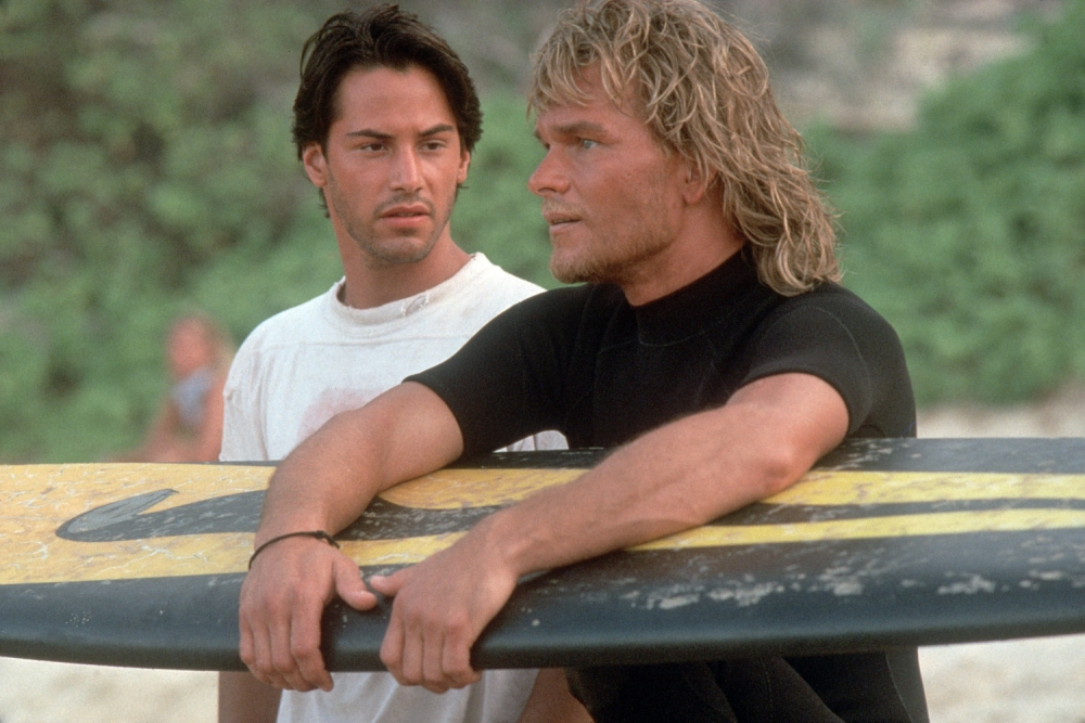 The best the curtains have ever looked in Point Break (Picture: Channel 5)
