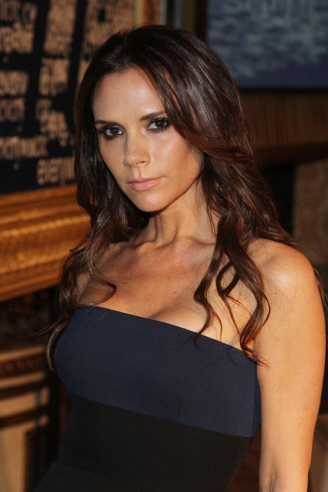 Beckhams wifes boobs