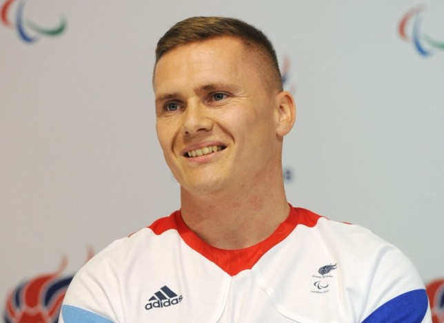 Great Britain's David Weir during a Great Britain pre-games press conference at Paralympics GB House, London. PRESS ASSOCIATION Photo. Picture date: Sunday August 26, 2012. See PA story PARALYMPICS Athletics. Photo credit should read: Anna Gowthorpe/PA Wire. EDITORIAL USE ONLY