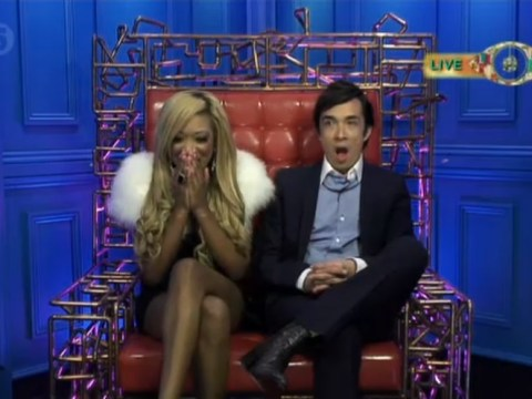 Gina Rio and Dexter Koh enter Big Brother safe house in fake double eviction
