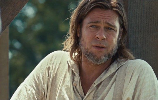 Brad Pitt in 12 Years A Slave trailer