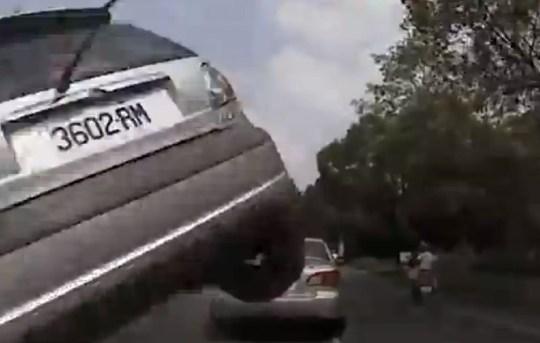 Car crash, Taiwan