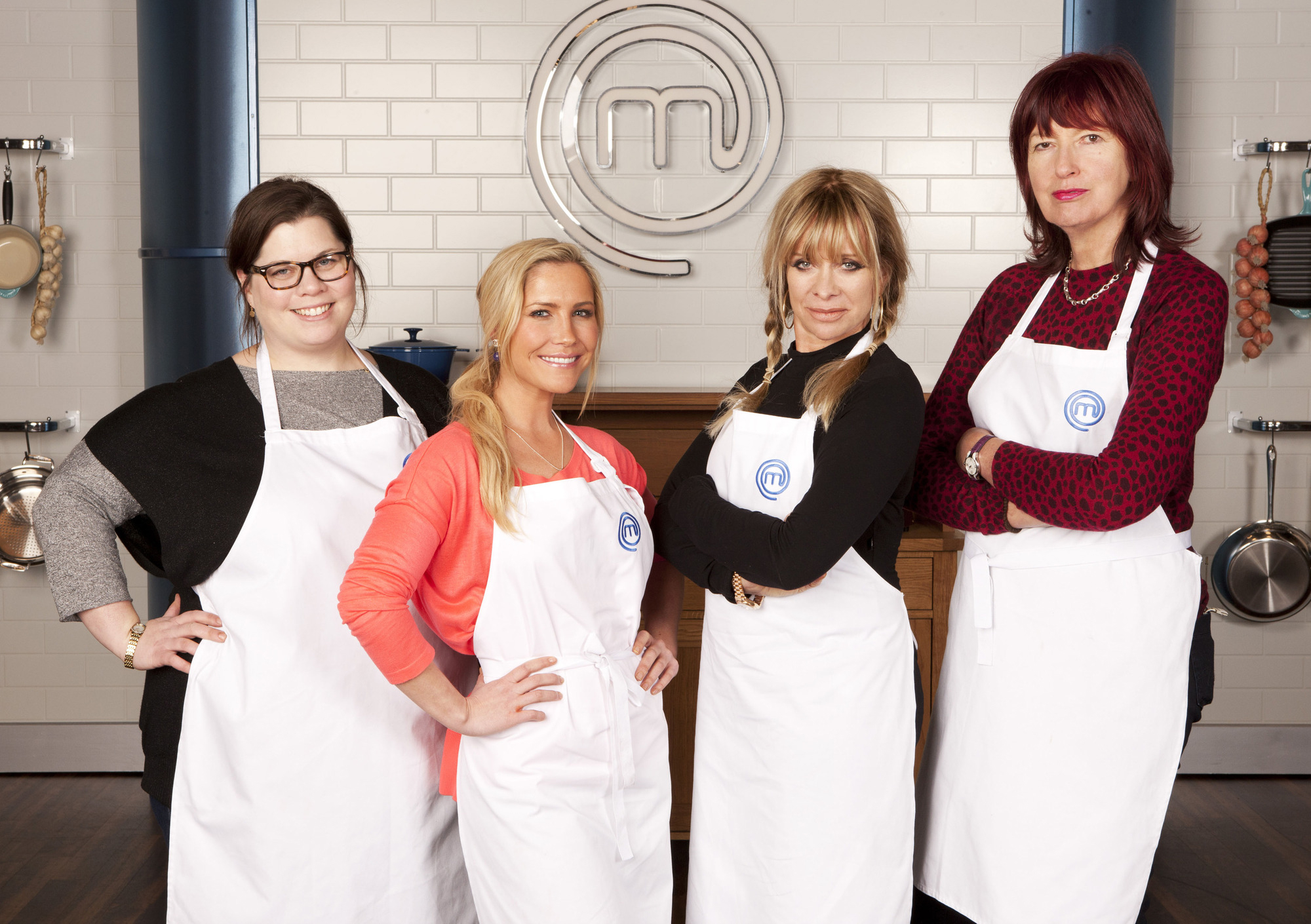 Janet Street-Porter makes her mark in the kitchen as Celebrity Masterchef kicks off