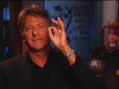 Dustin Hoffman breaks down as he discusses treatment of women and film Tootsie