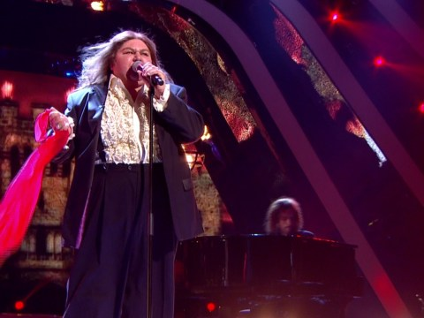 Cheryl Fergison impresses as Meatloaf on Your Face Sounds Familiar