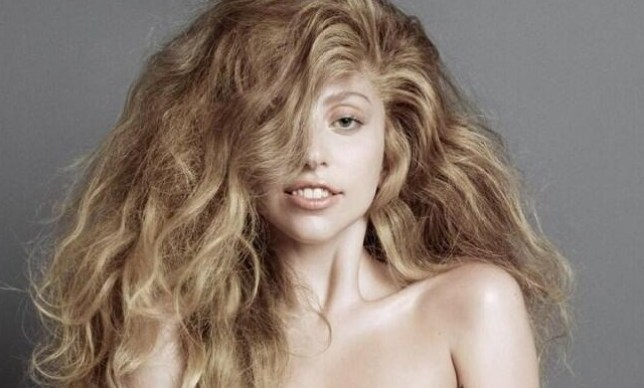 Lady Gaga has been going topless for her comeback. Pic: Supplied