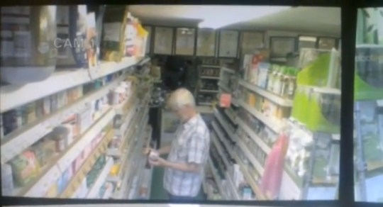 Whitstable Nutrition Centre ghost CCTV video spooks owner in Kent