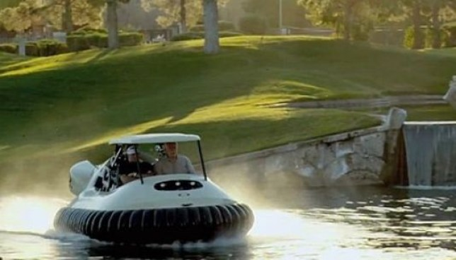 Genius! Ohio golf club introduces 'hovercraft golf carts ... on bicycle in water, go kart in water, golf hole in water, backhoe in water, golf near water, golf hole on water, tools in water, scooter in water, electric vehicle in water, gps in water, trailer in water, generator in water, volkswagen in water, grill in water, camper in water, wheelchair in water, golf by water, bus in water, utv in water, plants that grow in water,