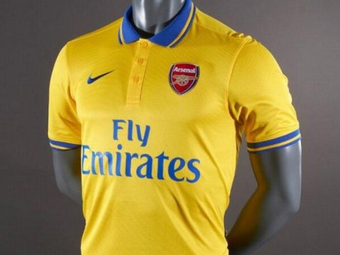 Arsenal's new away kit 'leaked' on the internet