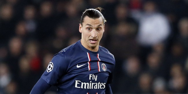 Manchester City interested in Paris Saint-Germain's Zlatan Ibrahimovic