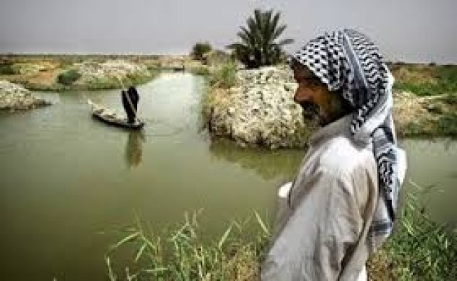 The Mesopotamian Marshes in Iraq