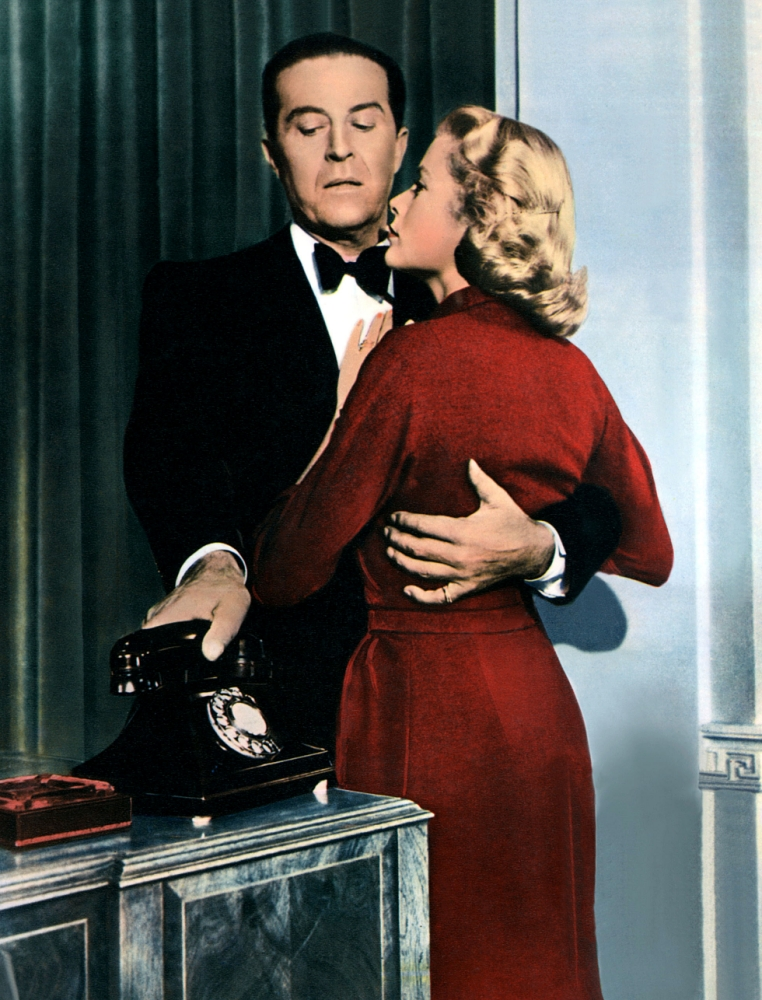 Ray Milland and  Grace Kelly in the Hitchcock thriller Dial M For Murder (Picture: Supplied)