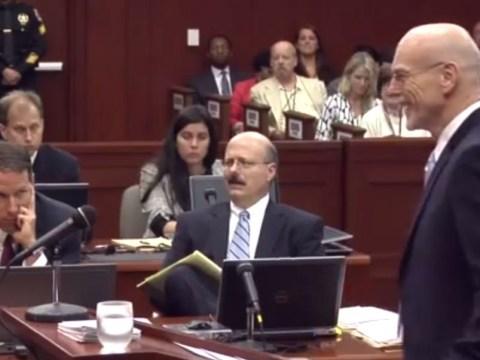 George Zimmerman's defence lawyer insists trial 'knock, knock' joke funny