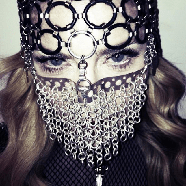 Culture clash: Madonna has embraced Muslim styles in a new photo shoot (Photo: Madonna Facebook)