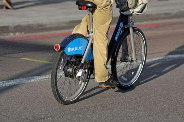 Someone's a bit lost: Boris Bike turns up in Gambia