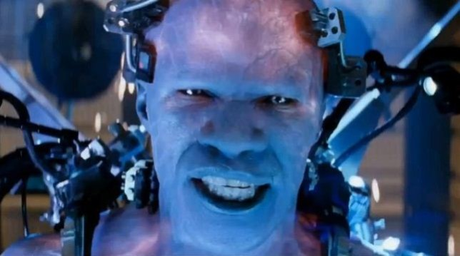 Electro reveals himself in this new clip (Picture: Sony Pictures)