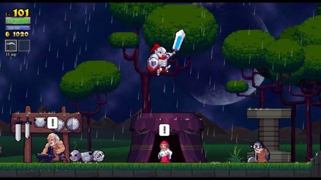 Rogue Legacy (PC) - make your parents proud