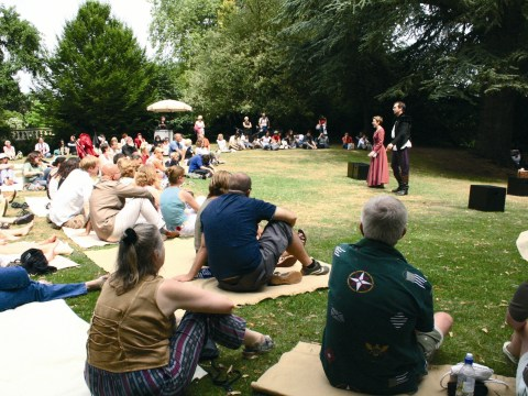 'Shall I compare thee to a summer's day?' Catch open air Shakespeare while it's hot